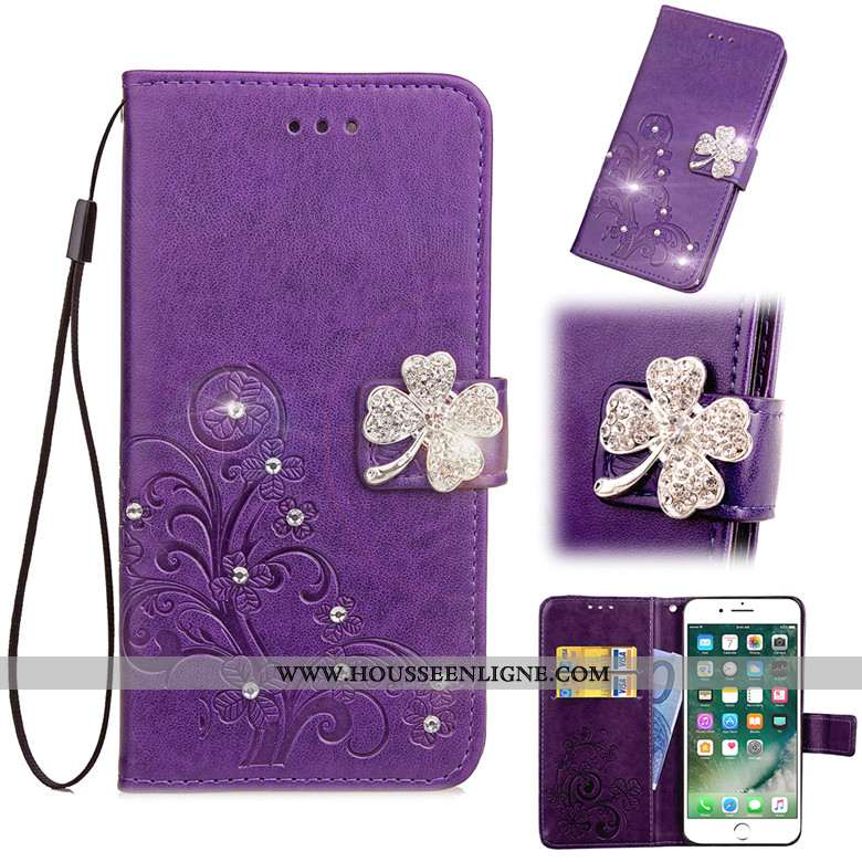 Housse Sony Xperia Xa1 Ultra Protection Étui Téléphone Portable Violet Clamshell Coque