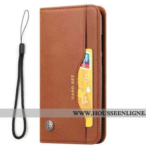 Housse Sony Xperia Xa2 Cuir Protection Téléphone Portable Coque Incassable Étui Marron