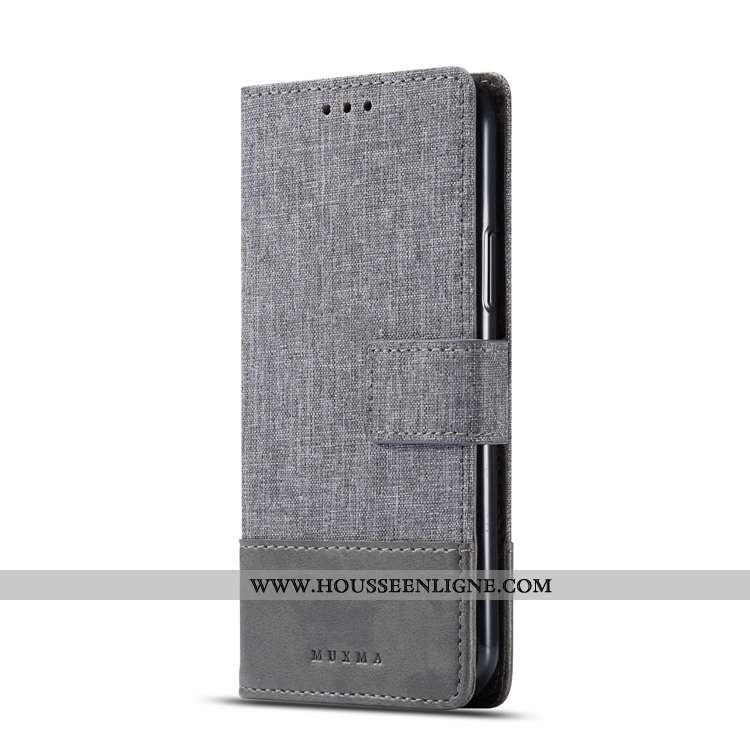 Housse Sony Xperia Xa2 Ultra Fluide Doux Protection Carte Étui Gris Coque Téléphone Portable
