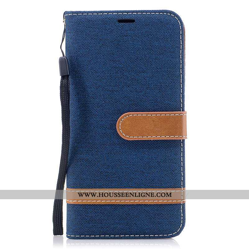 Housse Sony Xperia Xa2 Ultra Modèle Fleurie Fluide Doux Téléphone Portable Coque Tout Compris Bleu M