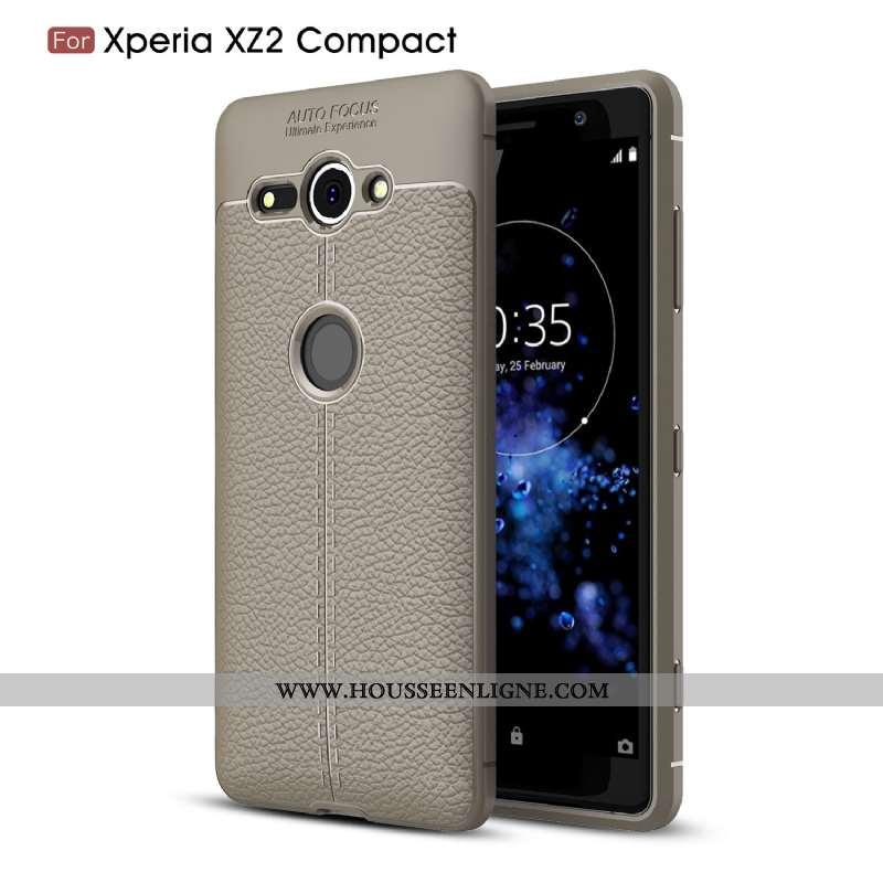 Housse Sony Xperia Xz2 Compact Fluide Doux Silicone Protection Téléphone Portable Coque Étui Tout Co