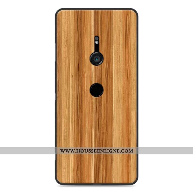 Housse Sony Xperia Xz3 Personnalité Vintage Modèle Fleurie Protection Téléphone Portable Silicone Ka