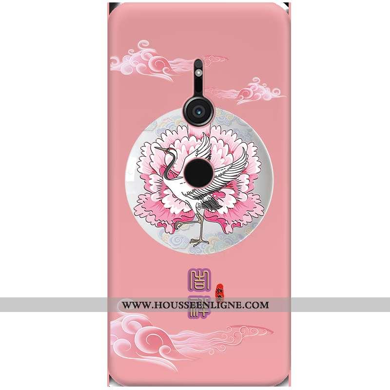 Housse Sony Xperia Xz3 Tendance Légère Protection Créatif Nouveau Noir Ultra Rose