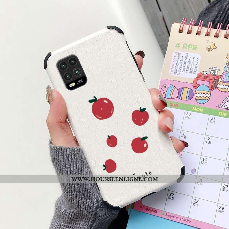 Housse Xiaomi Mi 10 Lite Dessin Animé Charmant Incassable Citron Personnalité Silicone Net Rouge