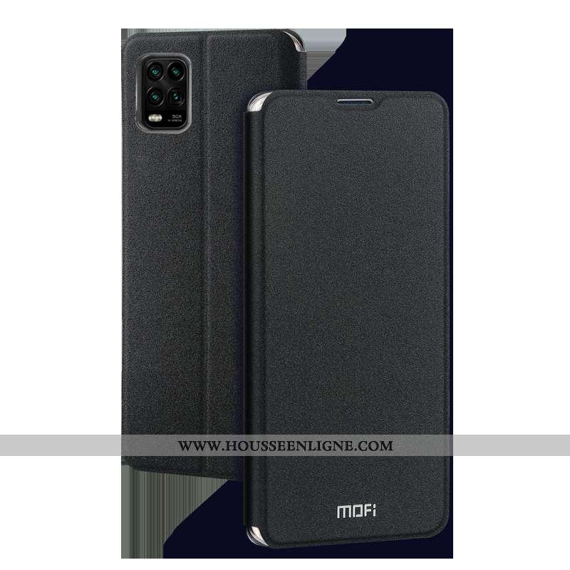 Housse Xiaomi Mi 10 Lite Silicone Protection Tout Compris Clamshell Petit Téléphone Portable Cuir No