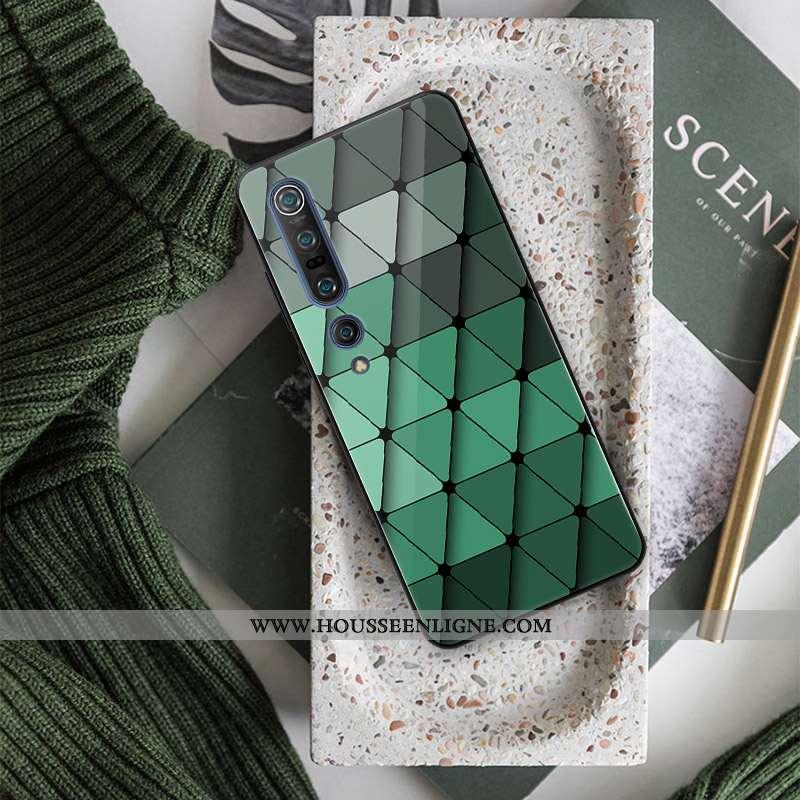 Housse Xiaomi Mi 10 Pro Créatif Silicone Tout Compris Personnalité Étui Verre Téléphone Portable Ver