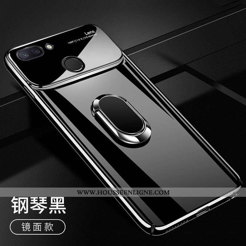 Housse Xiaomi Mi 8 Lite Légère Modèle Fleurie Verre Coque Créatif Étui Tout Compris Noir