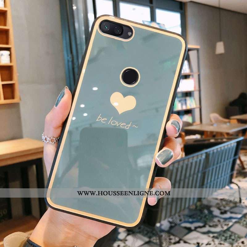 Housse Xiaomi Mi 8 Lite Verre Tendance Gris Incassable Luxe Vent Jeunesse