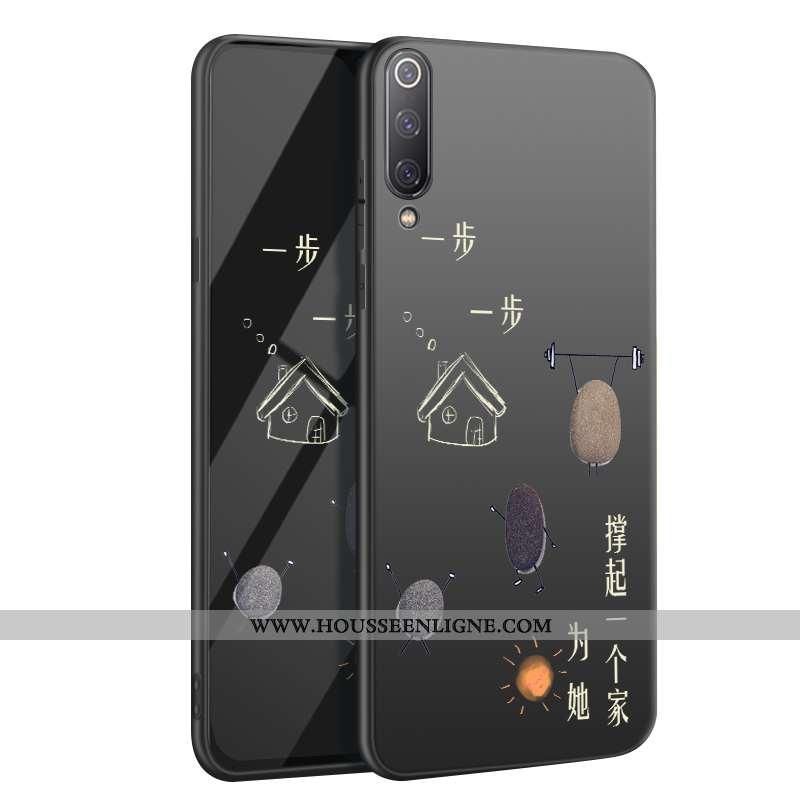 Housse Xiaomi Mi 9 Fluide Doux Silicone Créatif Protection Petit Personnalité Téléphone Portable Noi