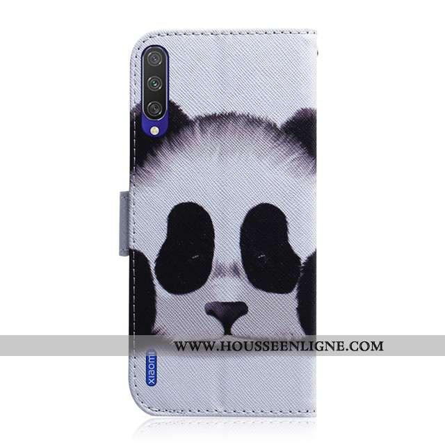 Housse Xiaomi Mi 9 Lite Cuir Silicone Téléphone Portable Incassable Tout Compris Dessin Animé Blanch