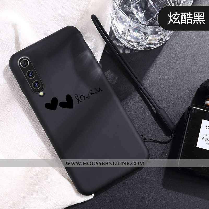 Housse Xiaomi Mi 9 Se Charmant Ultra Fluide Doux Protection Coque Amour Légère Noir