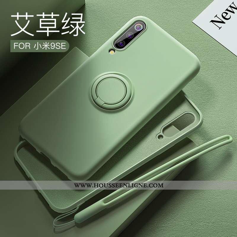 Housse Xiaomi Mi 9 Se Silicone Ornements Suspendus Tout Compris Amoureux Vert Coque Téléphone Portab