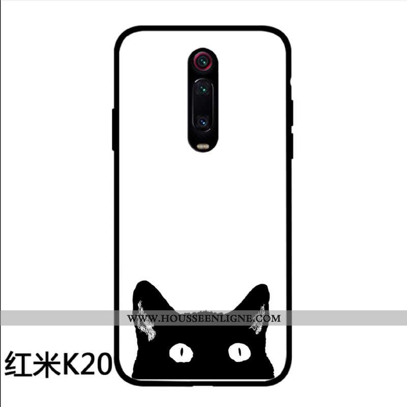 Housse Xiaomi Mi 9t Charmant Protection Rouge Simple Verre Tout Compris Coque Blanche
