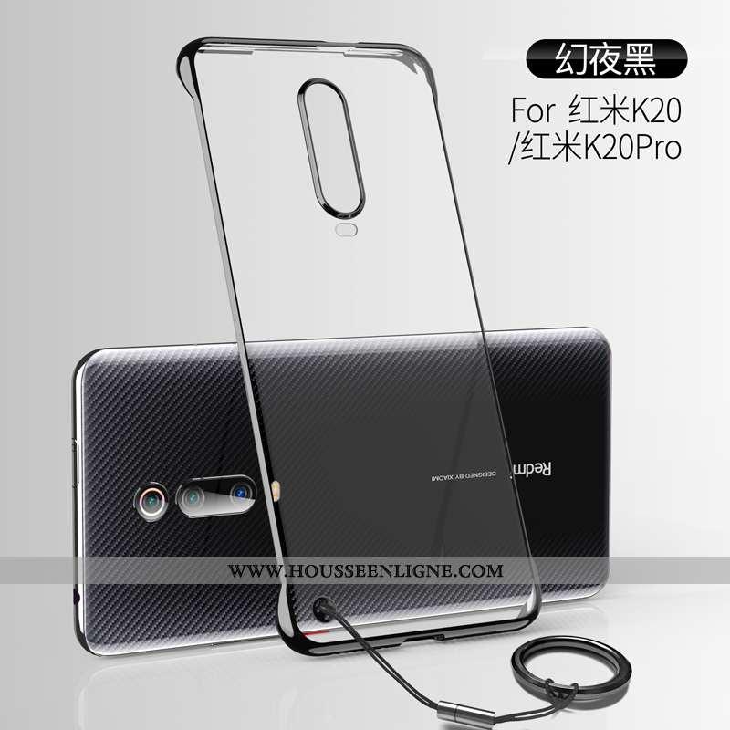 Housse Xiaomi Mi 9t Pro Légère Protection Respirant Incassable Transparent Border Placage Noir