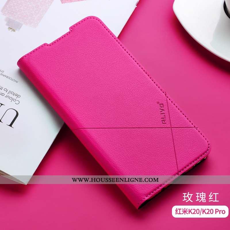 Housse Xiaomi Mi 9t Silicone Protection Petit Incassable Rouge Téléphone Portable Clamshell Rose