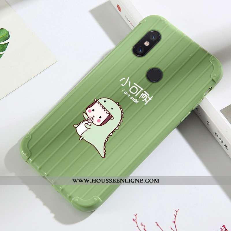 Housse Xiaomi Mi A2 Lite Charmant Tendance Fluide Doux Jeunesse Dessin Animé Incassable Net Rouge Ve