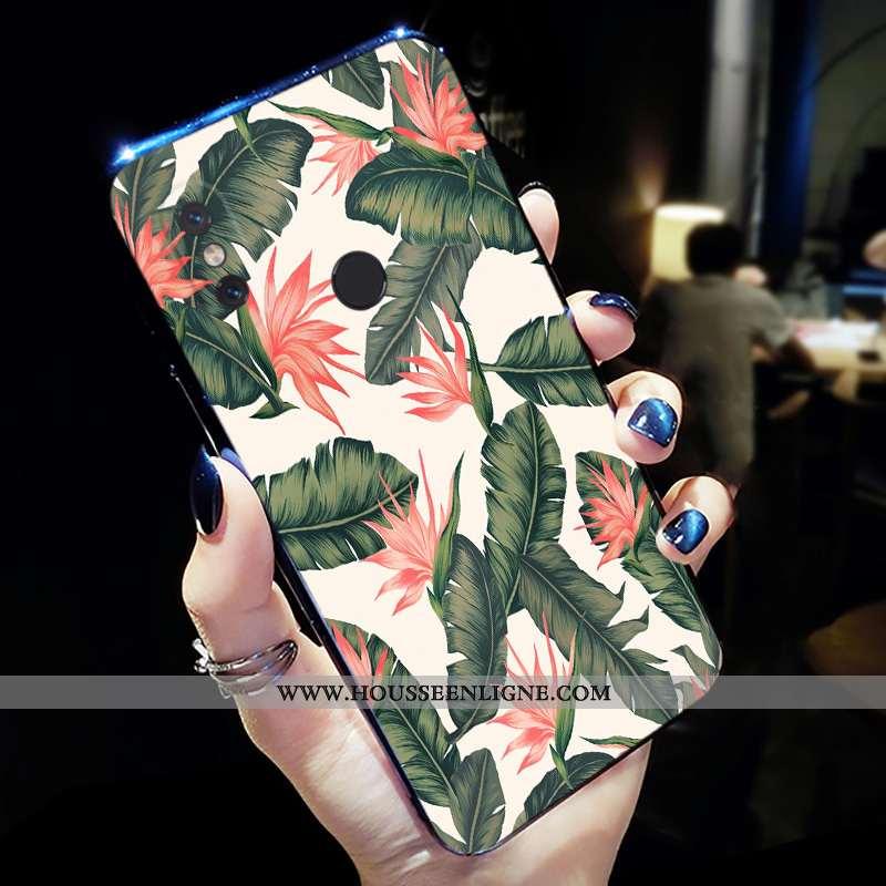 Housse Xiaomi Mi A2 Personnalité Créatif Silicone Étui Tout Compris Protection Petit Verte