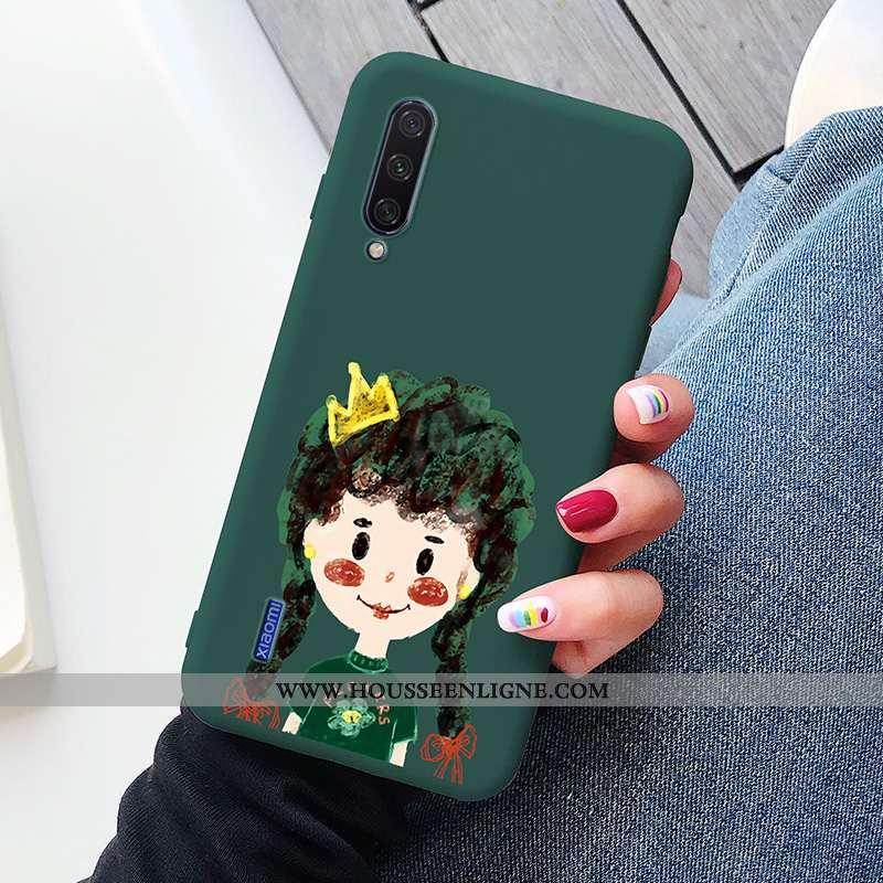 Housse Xiaomi Mi A3 Silicone Protection Tout Compris Simple Charmant Tendance Téléphone Portable Arm