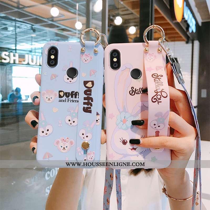 Housse Xiaomi Mi Max 3 Fluide Doux Silicone Protection Téléphone Portable Charmant Créatif Petit Ble