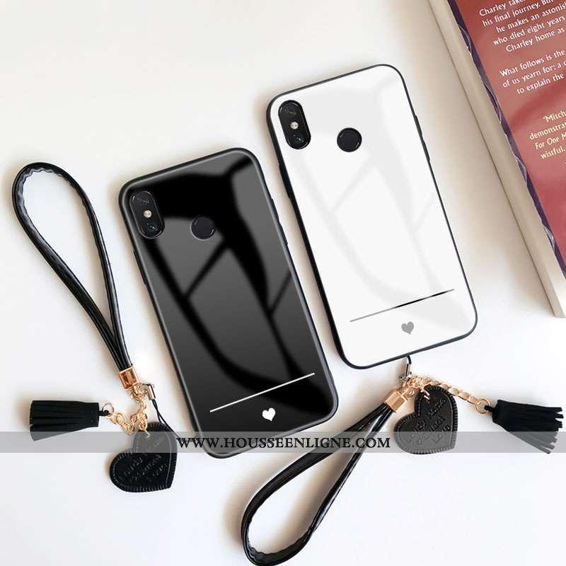 Housse Xiaomi Mi Max 3 Personnalité Créatif Coque Étui Silicone Amour Tout Compris Noir