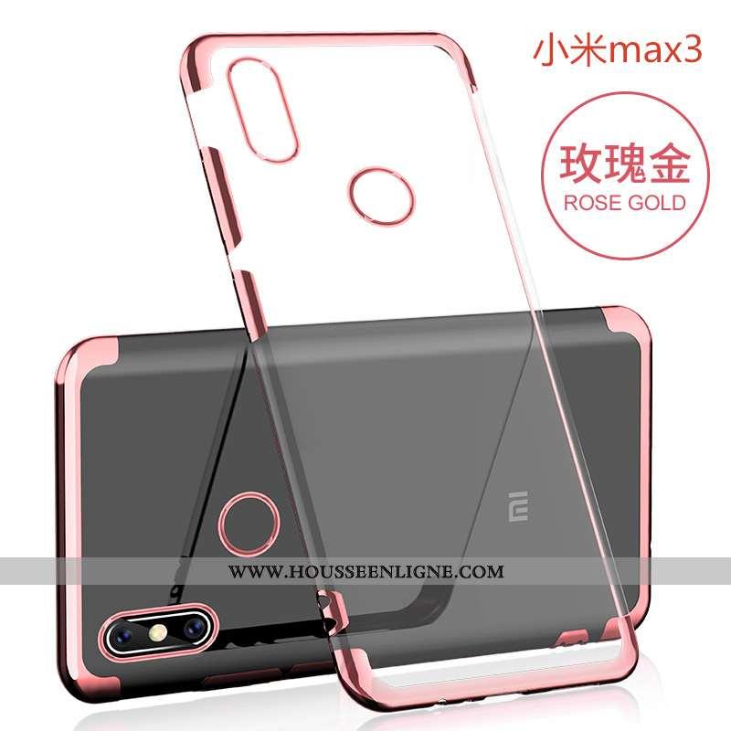 Housse Xiaomi Mi Max 3 Ultra Tendance Légère Créatif Téléphone Portable Fluide Doux Protection Rose