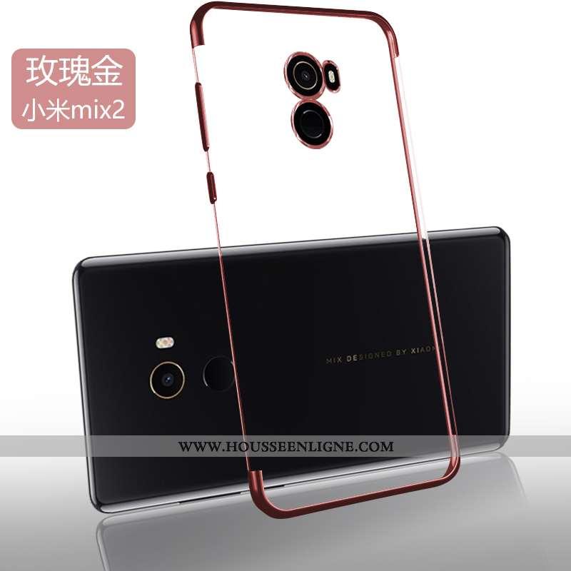 Housse Xiaomi Mi Mix 2 Légère Fluide Doux Tendance Silicone Nouveau Protection Ultra Doré