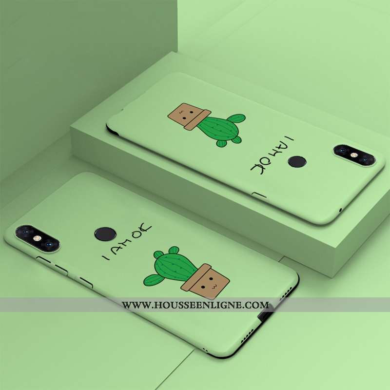 Housse Xiaomi Mi Mix 3 Légère Protection Étui Difficile Luxe Nouveau Vert Verte