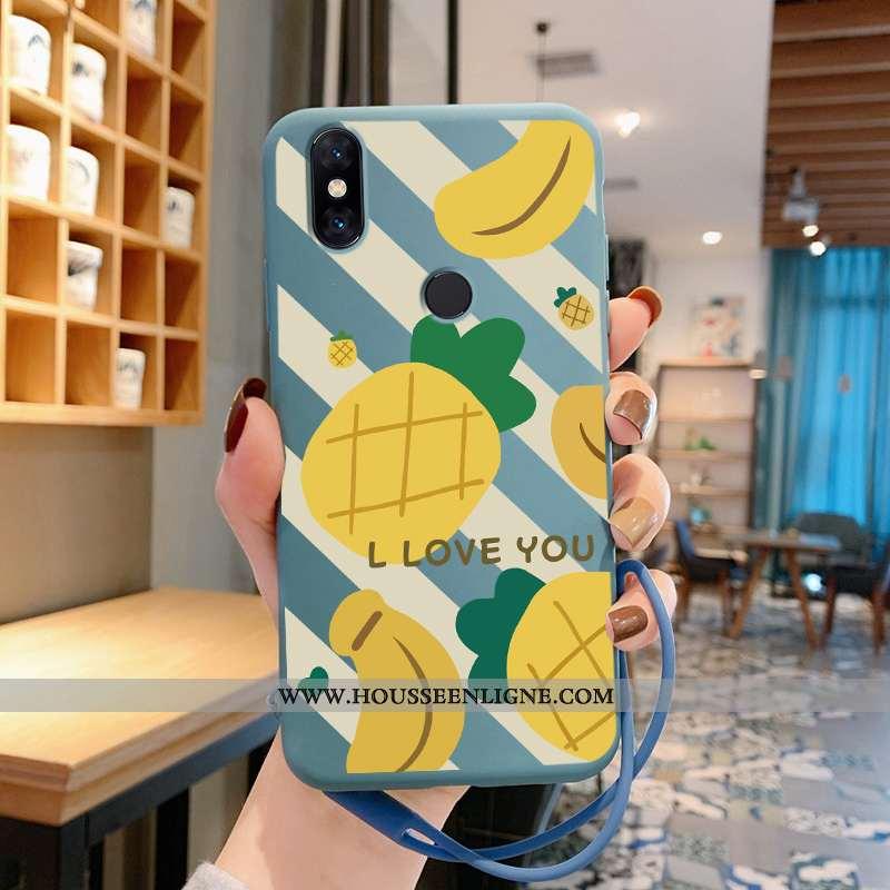Housse Xiaomi Mi Mix 3 Personnalité Créatif Incassable Fruit Bleu Ultra Silicone