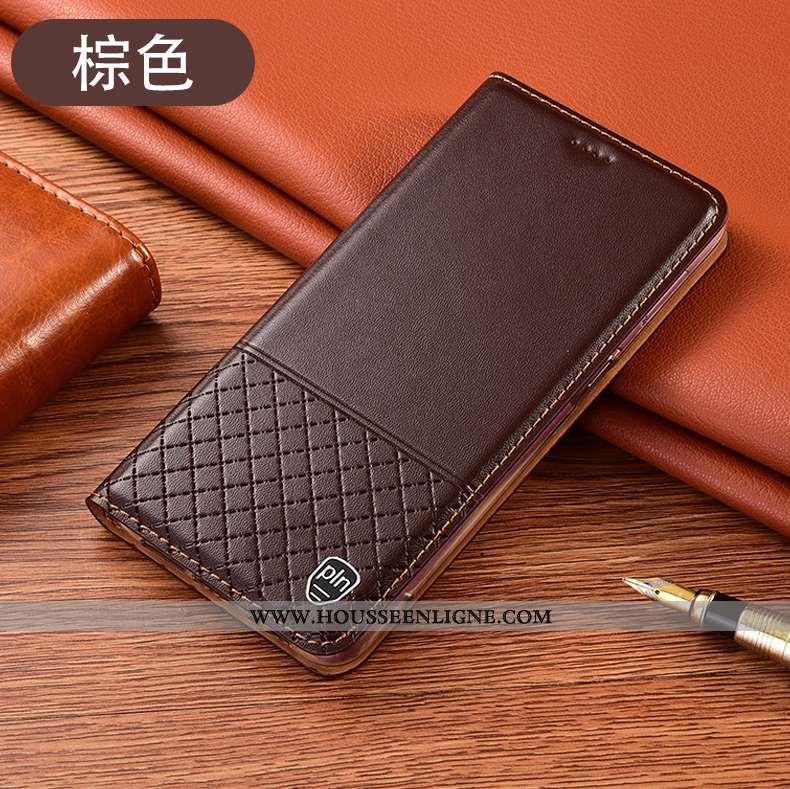 Housse Xiaomi Mi Note 10 Lite Cuir Véritable Protection Téléphone Portable Petit Jeunesse Tout Compr