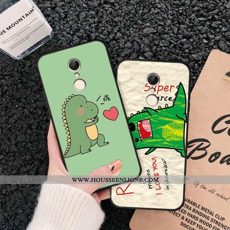 Housse Xiaomi Redmi 5 Ornements Suspendus Fluide Doux Étui Silicone Coque Téléphone Portable Vert Ve