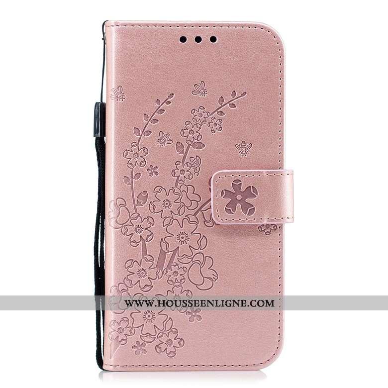 Housse Xiaomi Redmi 6 Protection Cuir Coque Rouge Fluide Doux Tout Compris Étui Rose
