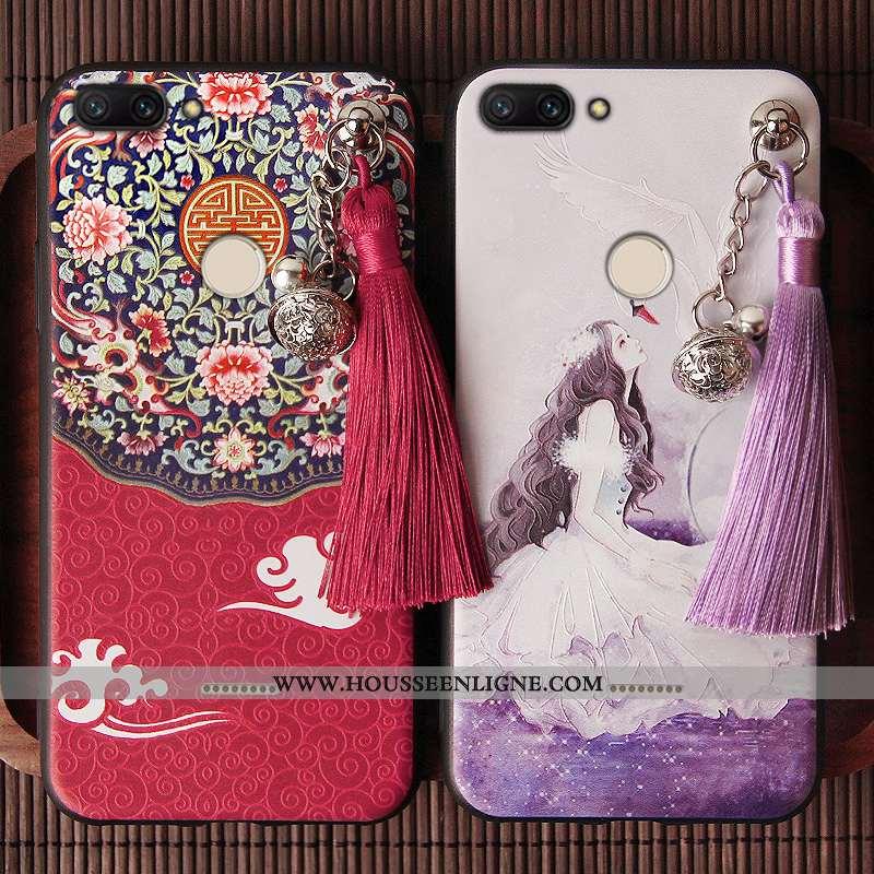 Housse Xiaomi Redmi 6 Protection Personnalité Téléphone Portable Créatif Style Chinois Rouge Silicon