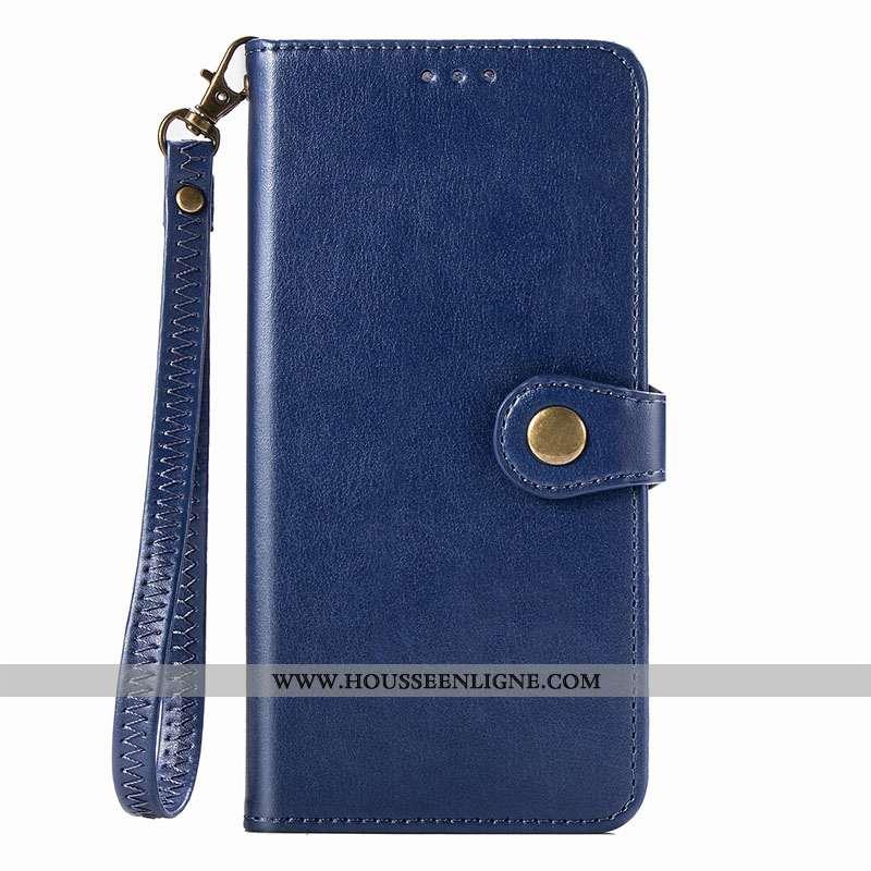 Housse Xiaomi Redmi 8 Protection Fluide Doux Téléphone Portable Étui Rouge Tout Compris Bleu Foncé