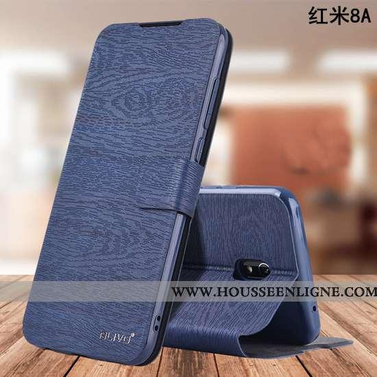 Housse Xiaomi Redmi 8a Silicone Protection Fluide Doux Téléphone Portable Tout Compris Étui Bleu Fon