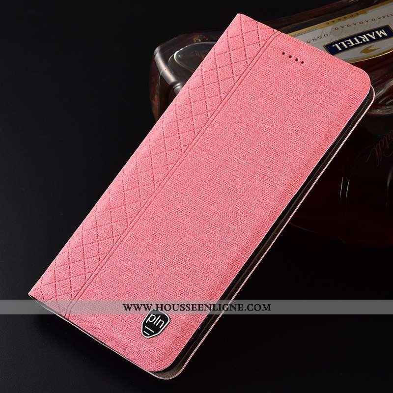 Housse Xiaomi Redmi 9a Protection Petit Rouge Incassable Lin Tout Compris Coque Rose