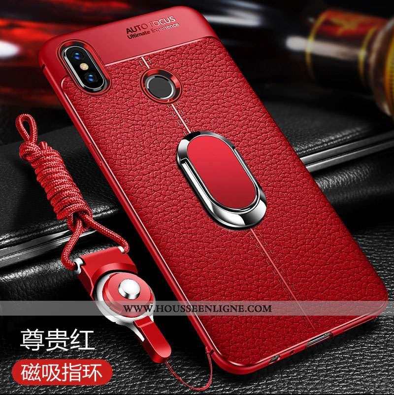 Housse Xiaomi Redmi Note 5 Fluide Doux Silicone Petit Coque Tout Compris Rouge Haute