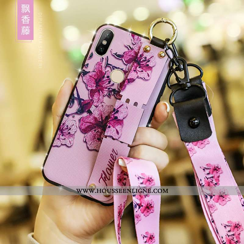 Housse Xiaomi Redmi Note 5 Silicone Mode Fluide Doux Style Chinois Personnalité Net Rouge Protection