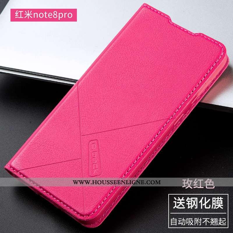 Housse Xiaomi Redmi Note 8 Pro Fluide Doux Silicone Téléphone Portable Tout Compris Incassable Prote