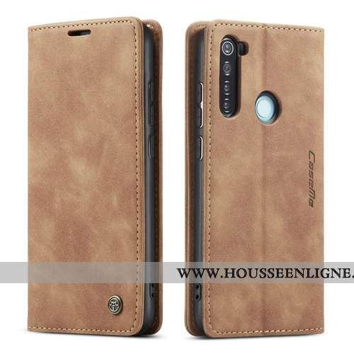 Housse Xiaomi Redmi Note 8t Protection Cuir Tout Compris Téléphone Portable Petit Business Rouge Mar