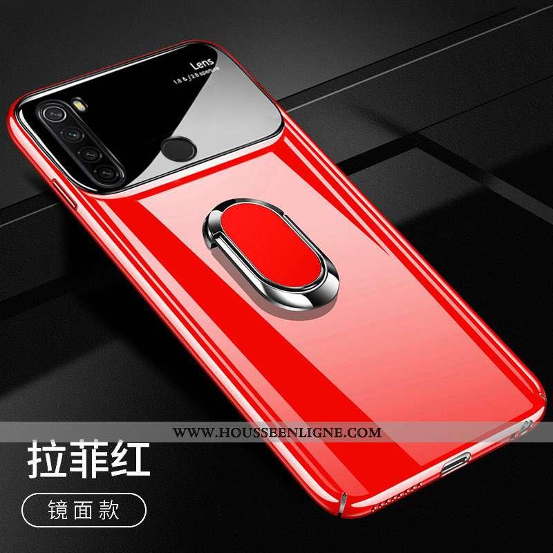 Housse Xiaomi Redmi Note 8t Protection Légère Rouge Petit Incassable Téléphone Portable Étui