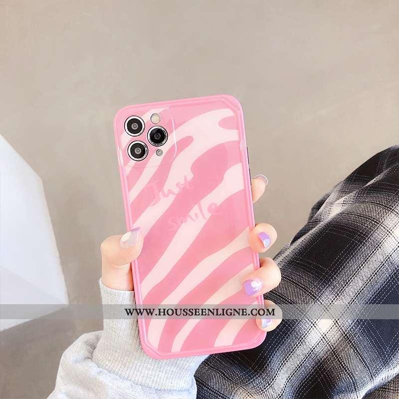 Housse iPhone 11 Pro Max Personnalité Créatif Légère Silicone Téléphone Portable Ultra Protection Ro