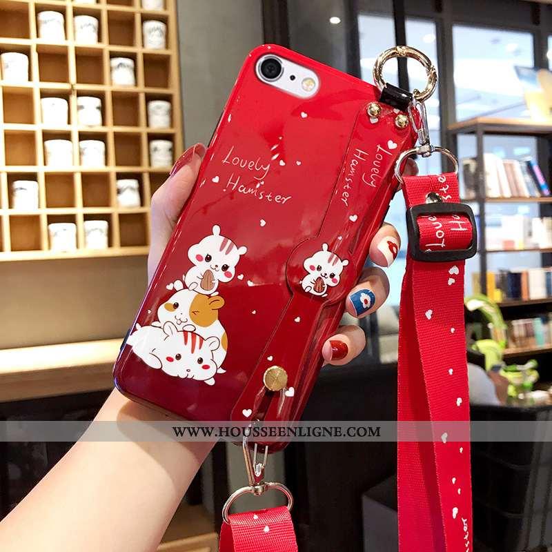 Housse iPhone 6/6s Plus Légère Fluide Doux Tout Compris Ultra Net Rouge Coque Personnalité