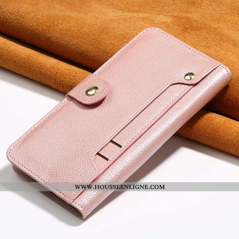 Housse iPhone 7 Cuir Véritable Portefeuille Tout Compris Carte Incassable Cuir Téléphone Portable Ro