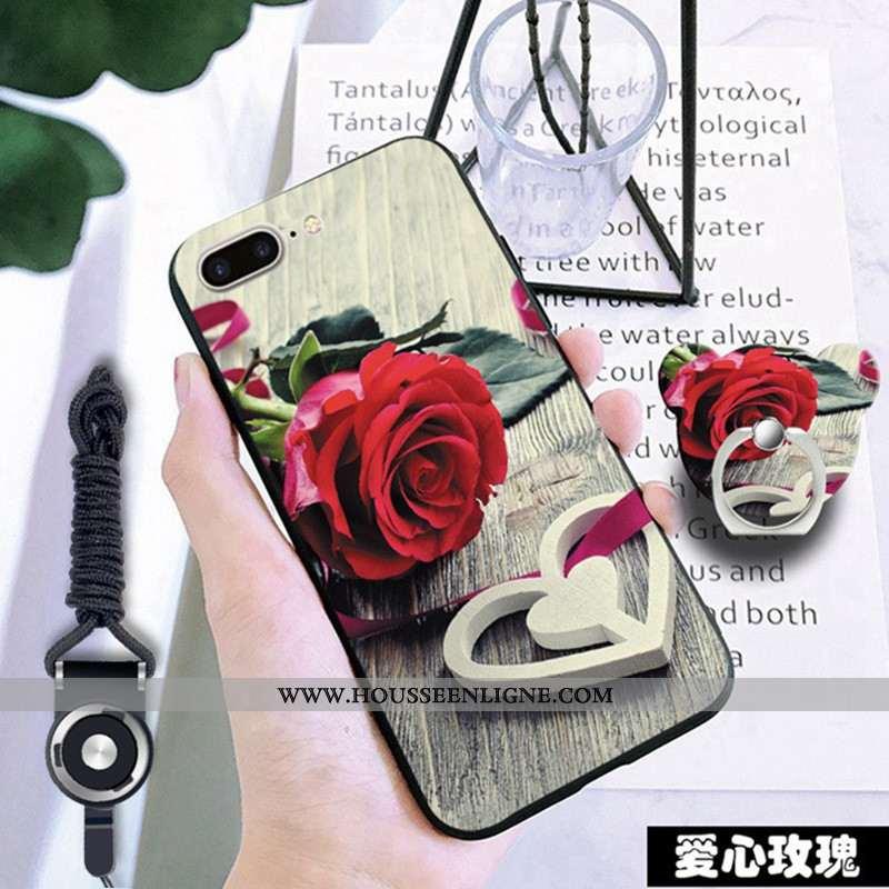 Housse iPhone 7 Plus Fluide Doux Rouge Téléphone Portable Coque Incassable