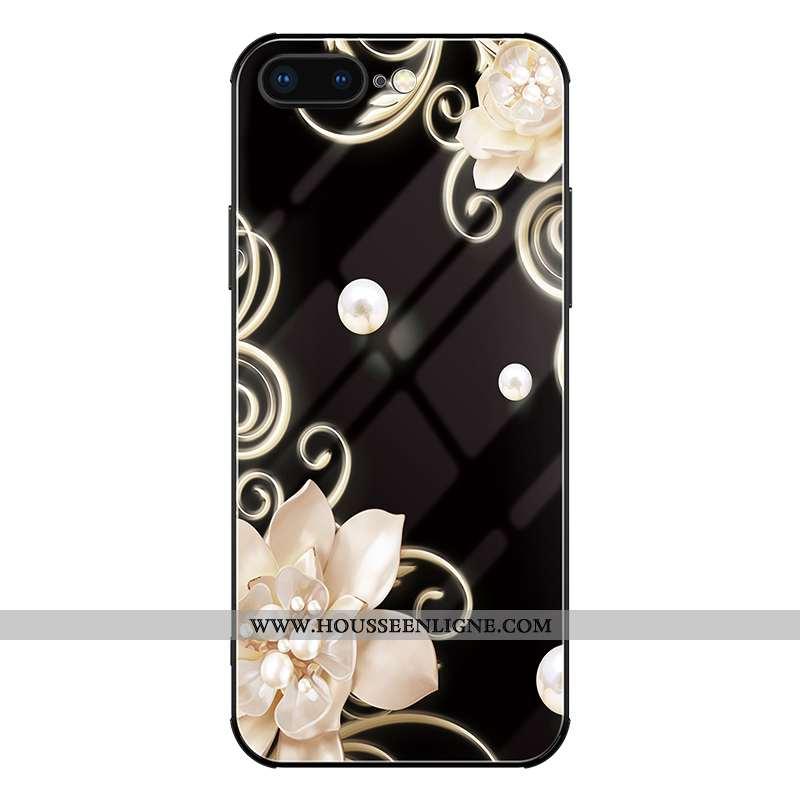 Housse iPhone 8 Plus Créatif Ultra Personnalité Célébrité Incassable Tout Compris Téléphone Portable