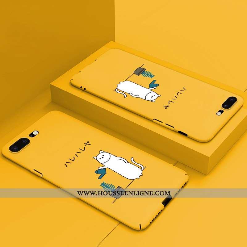 Housse iPhone 8 Plus Légère Protection Difficile Incassable Dessin Animé Étui Nouveau Jaune