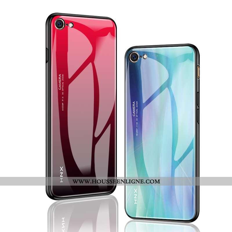 Housse iPhone Se (nouveau) Fluide Doux Silicone Simple Difficile Personnalisé Protection Tout Compri