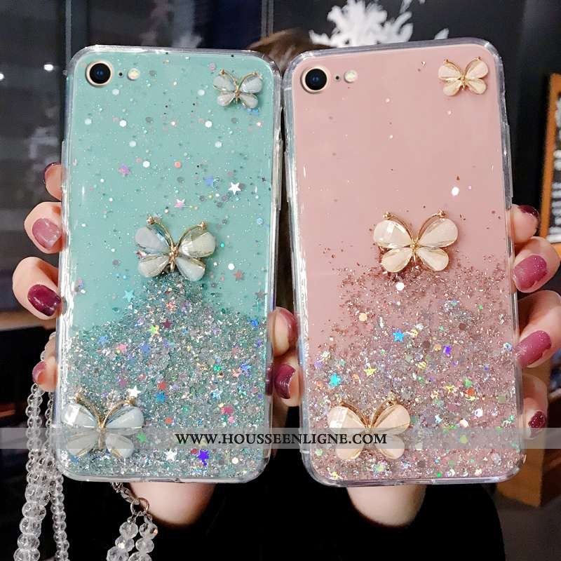 Housse iPhone Se (nouveau) Luxe Fluide Doux Tout Compris Téléphone Portable Étui Coque Protection Bl