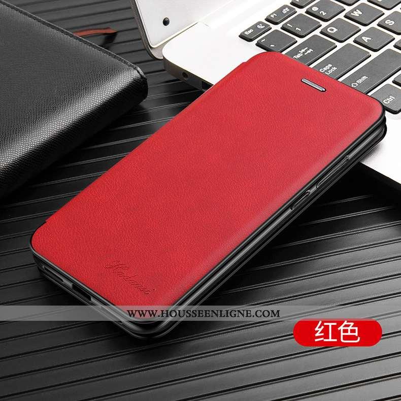 Housse iPhone Xr Protection Cuir Coque Rouge Tout Compris Téléphone Portable
