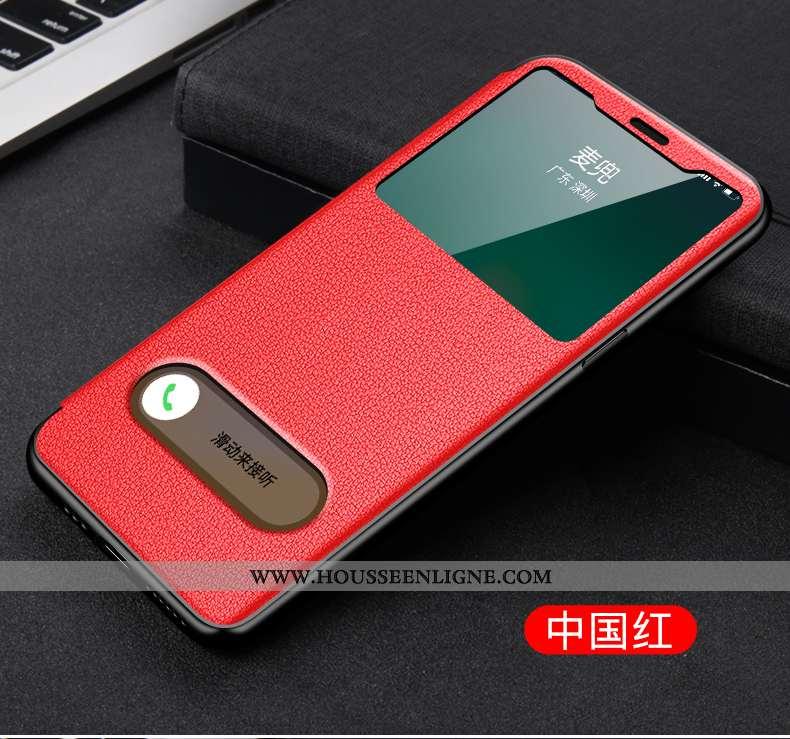Étui iPhone 12 Mini Légère Cuir Rouge Nouveau Incassable Housse Coque